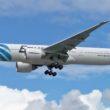 Droh-Graffiti auf EgyptAir-Maschine, wie auch auf vielen anderen Flugzeugen