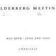 Sammlung an Insiderberichten vergangener Bilderberg-Konferenzen