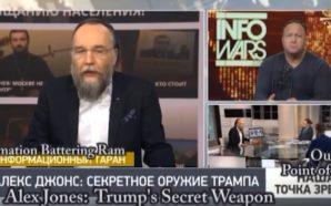 Okkulter Faschist Dugin preist Gast Alex Jones im Russen-TV