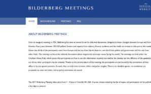 Offiziell: Bilderberg in Chantilly, Virginia (USA) – Entscheidung über Trump…
