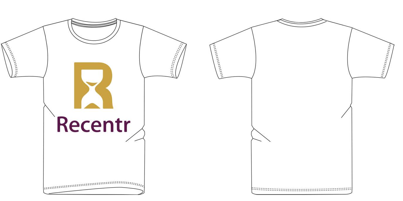 Jetzt: Das Recentr Logo-Hemd